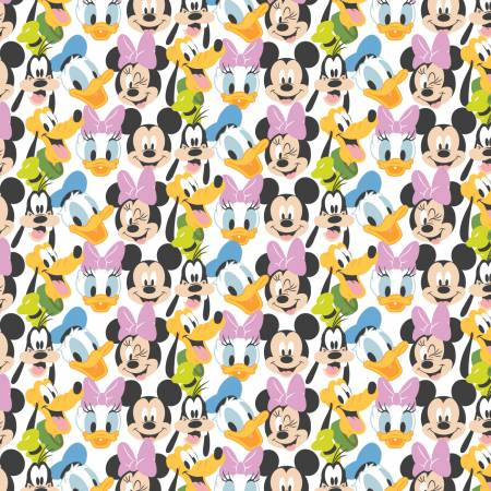 White Disney Mickey Mouse Here Comes the Fun