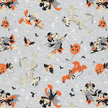 Mickey Mouse - Halloween - Costumed Friends