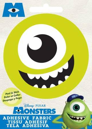 Disney Pixar - Mike - Adhesive Fabric 3in Badge
