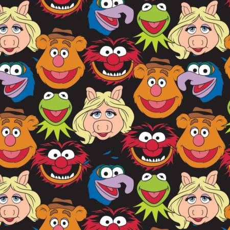 The Muppets Cast on Black