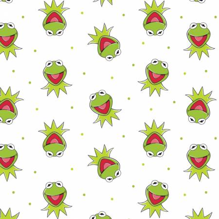 Disney The Muppets Kermit The Frog on White