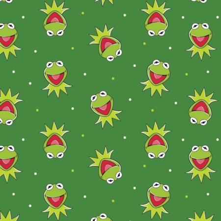 Disney The Muppets Kermit The Frog on Green