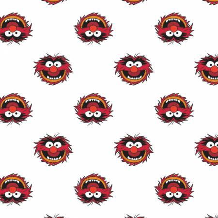 Disney The Muppets Animal on White