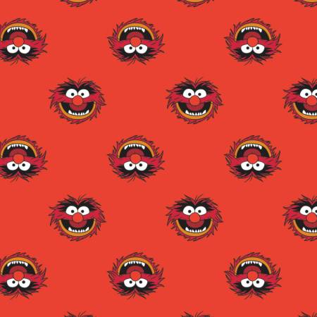 Disney The Muppets Animal on Red
