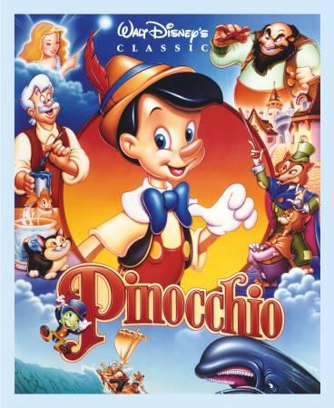 Multi Disney Pinocchio Full Digital Panel 36in x 44in