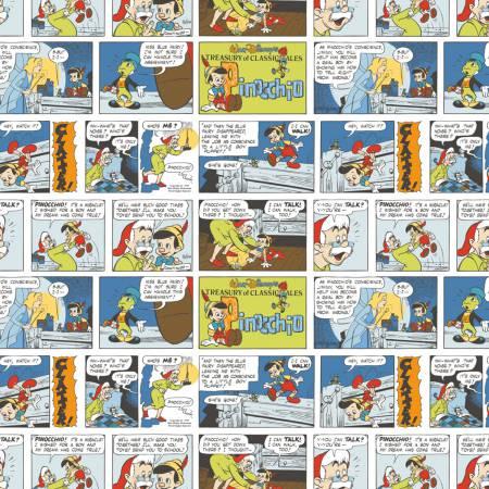 Multi Disney Pinocchio Comic