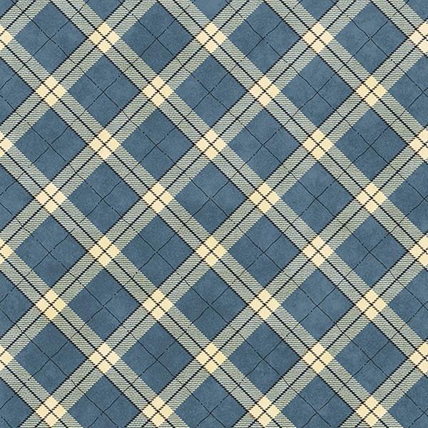 Henry Glass & Co Blue Plaid