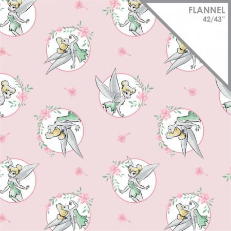 Disney Tinkerbell Flannelette