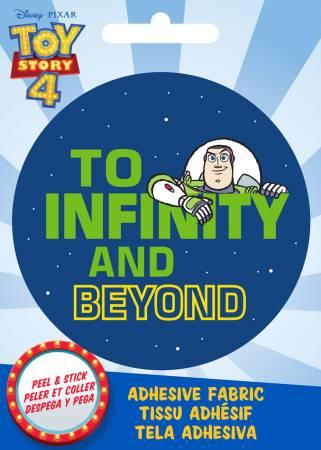 Disney Pixar - Buzz to Infinity - Adhesive Fabric 3in Badge