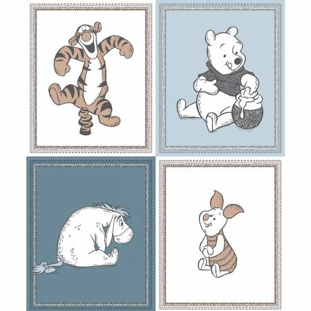 Disney Pooh Wonder & Whimsy - All Characters Panel 36in x 44in 30% OFF