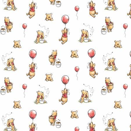 White Disney Winnie the Pooh Balloon