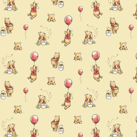 Winnie the Pooh : Balloon Chamomile - #85430503-02 - Walt Disney