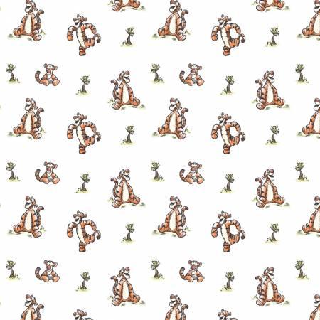 White Disney Winnie the Pooh Bouncy Tiger
