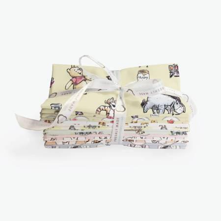 Fat Quarter Disney Winnie the Pooh, 85430509FQB2pcs/bundle