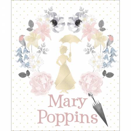 Mary Poppins White Panel