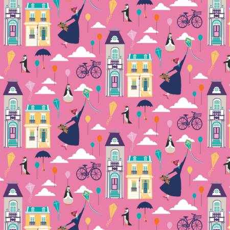 Pink Disney Mary Poppins Big Plans for Adventure