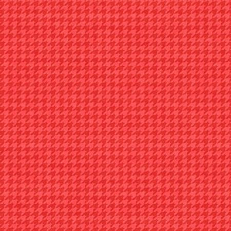 Hounds Tooth B 8624-85 Rose Berry