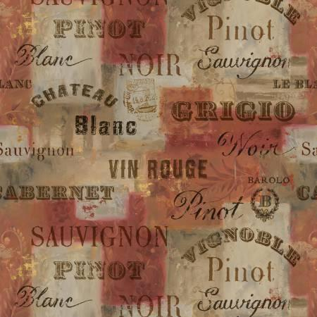 F-CB-WIL-FTC-04 Wilmington-FTC - From the Chateau-04-Brown/Taupe/Red w/ WINE words