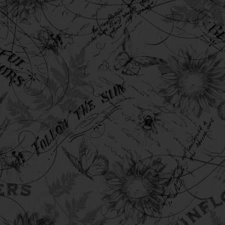 Follow the Sun - Black Toile - 86432-999