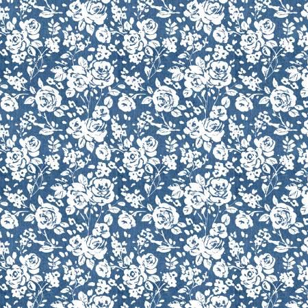 Summertime Blue Roses