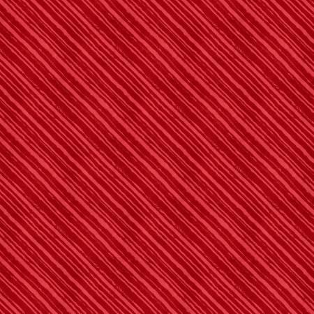Summertime Red Diagonal Stripes