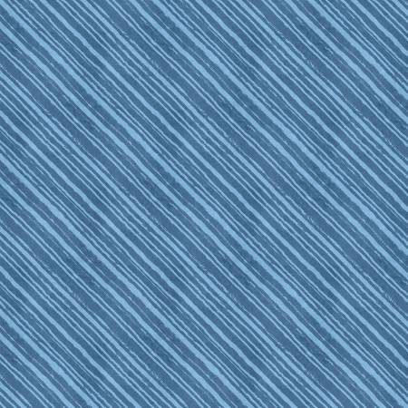 Blue Diagonal Stripes (Summertime)