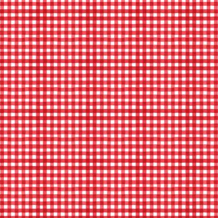 Summertime Red Gingham