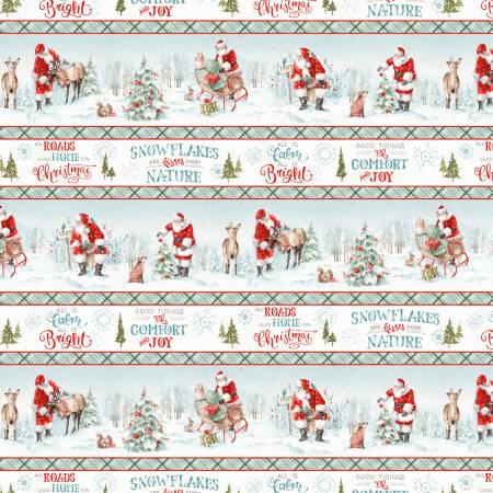 A Magical Christmas - Border Stripe