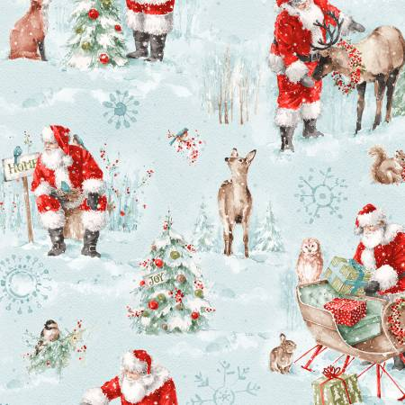 A Magical Christmas by Wilmington Prints 86461-437