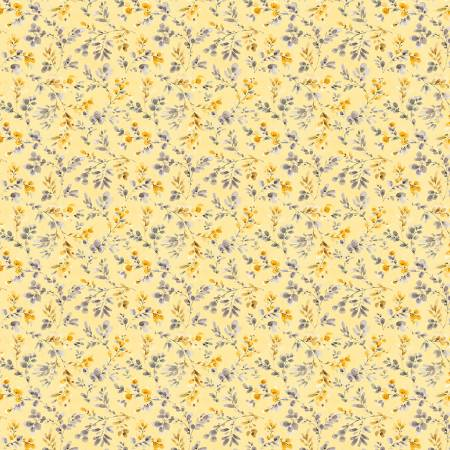 Fields of Gold Yellow Leaf Toss 1409-86501-559