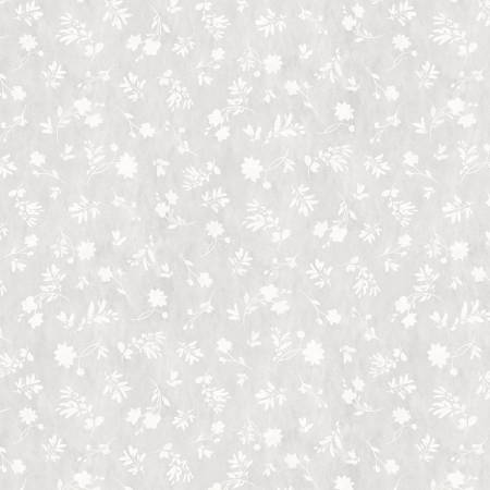Grey Floral Sihouettes - Fields of Gold by Lisa Audit