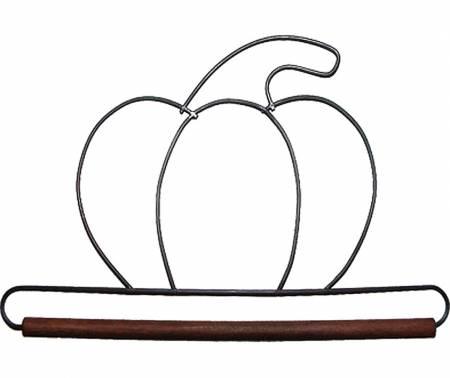 6in Pumpkin Decorative Craft Hanger