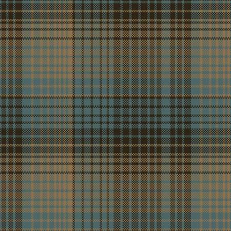 Blue/Brown/Tan Plaid Yarn Dye