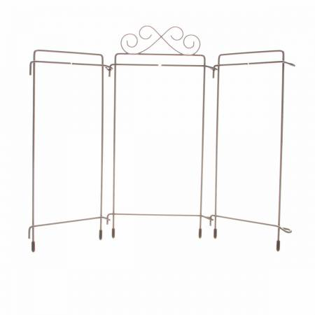 4in x 9in Table Top Tri-Stand Hanger Grey
