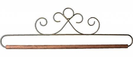 12in Gold French Curl Hanger