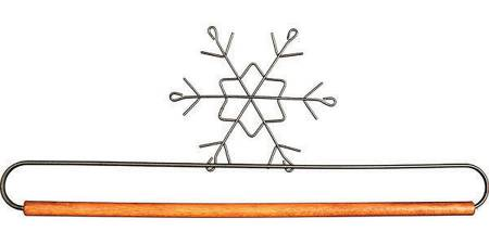 Snowflake With Dowel - 12