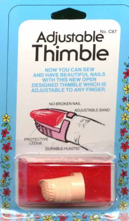 Adjustable Plastic Thimble