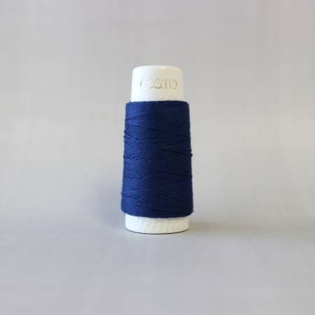 Cosmo Hidamari Sashiko Solid Thread - 30m - Indigo Blue