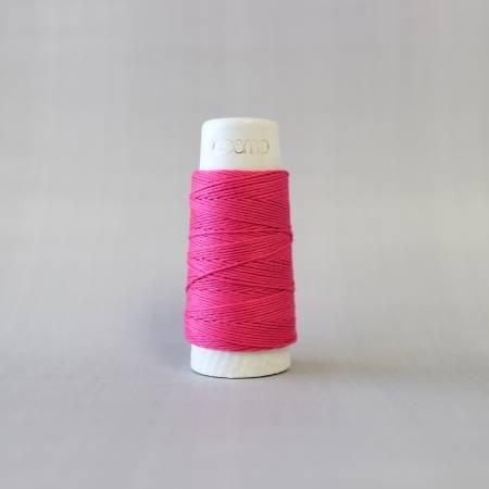 Cosmo Hidamari Sashiko Solid Thread 30 Meters Raspberry Sorbet