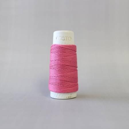Cosmo Hidamari Sashiko Solid Thread 30 Meters Peony #10