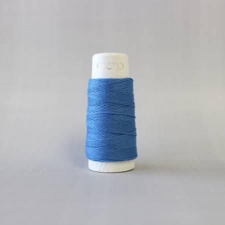 Cosmo Hidamari Sashiko Solid Thread 30 Meters Cornflower