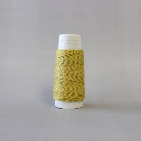 Cosmo Hidamari Sashiko Solid Thread 30 Meters Olive
