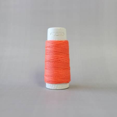 Cosmo Hidamari Sashiko Solid Thread 30 Meters Cantaloupe