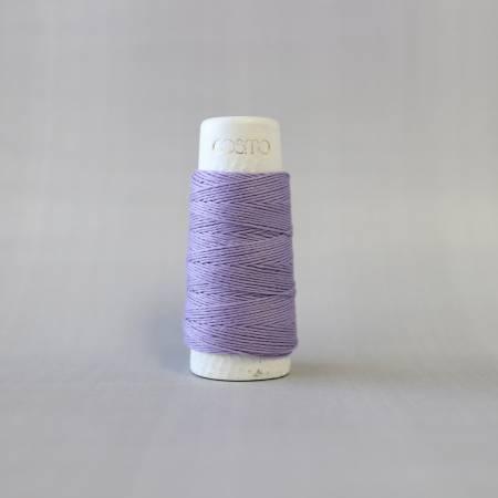 Cosmo Hidamari Sashiko Solid Thread 30 Meters Lavender