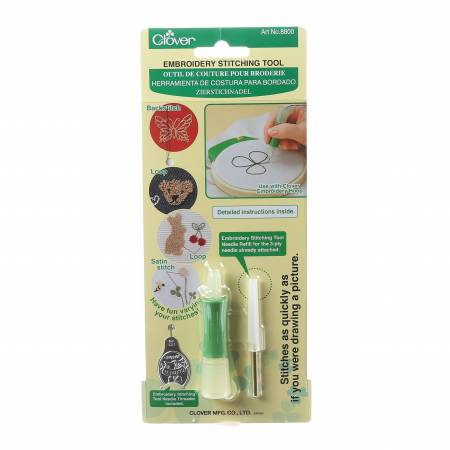 Clover Embroidery Stitching - Punchneedle Tool - 8800