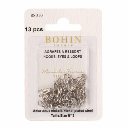 Hooks Eyes & Loops size 3