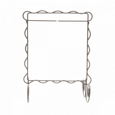 6in x 6in Scalloped Single Stand Silver