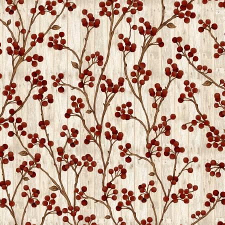Berry Branches Cream