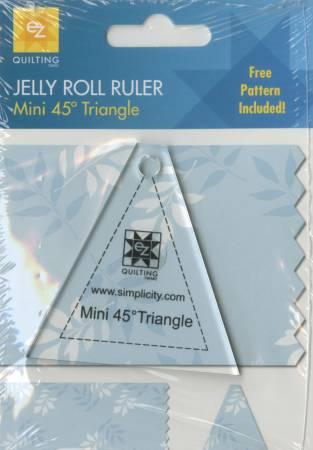 Mini 45 Degree Triangle 1pc