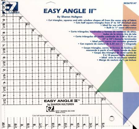 Easy Angle II Triangle Ruler 10-1/2in